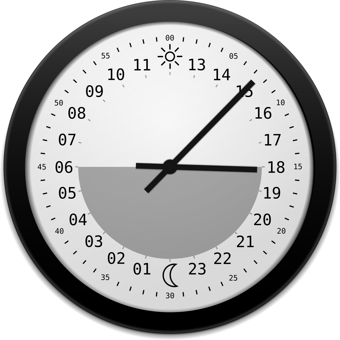 Sun clocks isoul 24 hour clock for animation click here amipublicfo Choice Image