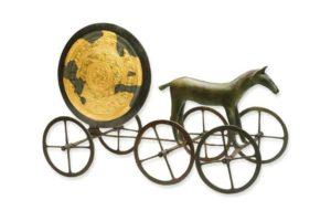 Nordic Sun Chariot in Bronze